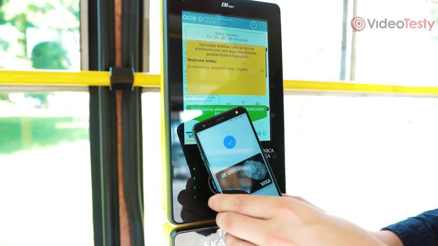 LG K40 posiada moduł NFC do płatności zbliżeniowych