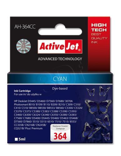 ActiveJet AH-364CC tusz cyan do drukarki HP (zamiennik HP 364 CB318EE) Premium