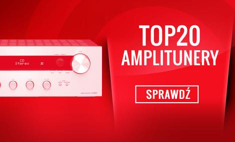 Czołowe Amplitunery na Rynku - Klasyfikacja TOP 20