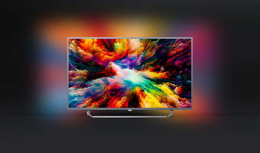 Philips 55PUS7303/12 4K, HDR Plus, Android, AMBILIGHT 3, QWERTY