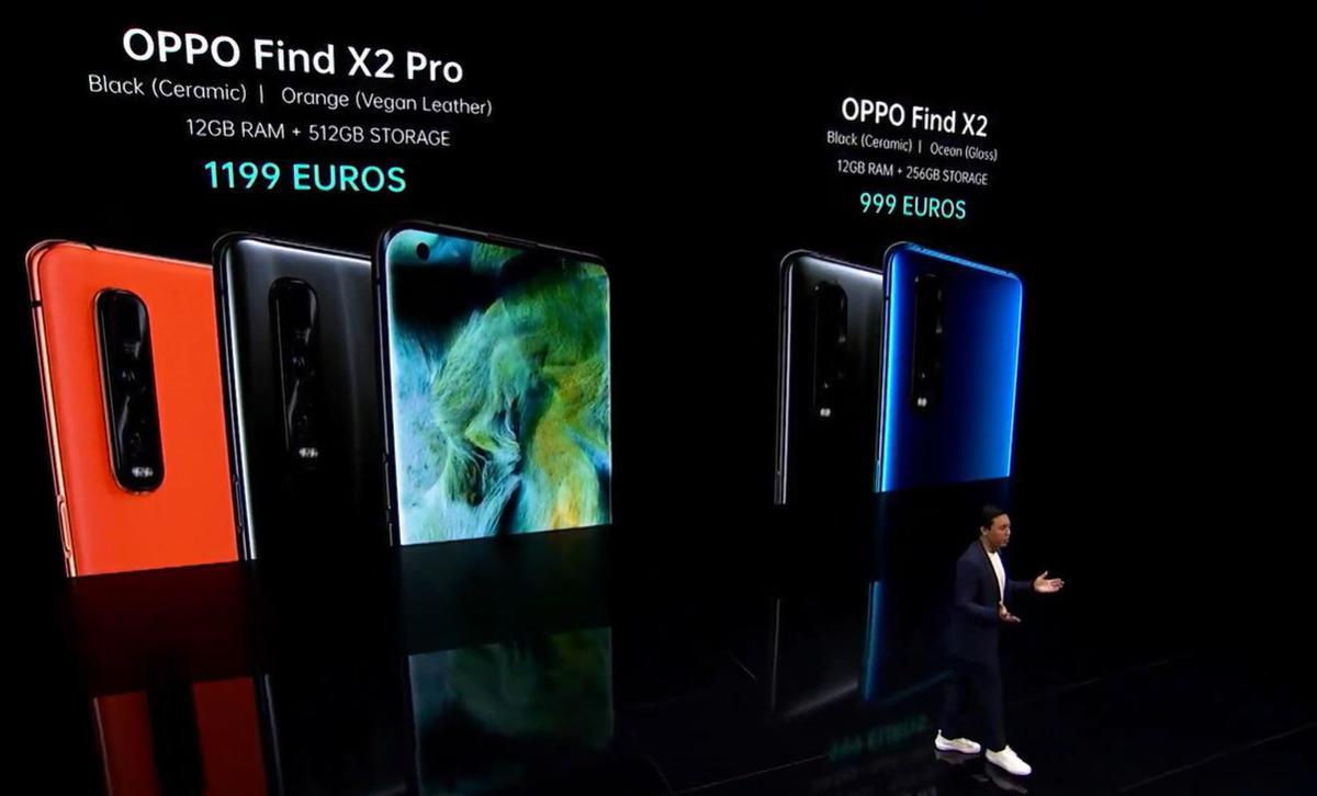 Oppo Find X2 Pro i Find X2 - ceny i warianty