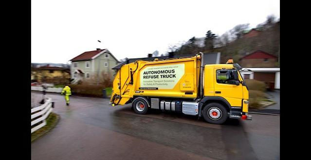 Volvo śmieciarka