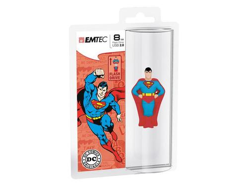 EMTEC USB Drive 8GB Super Heroes SUPERMAN