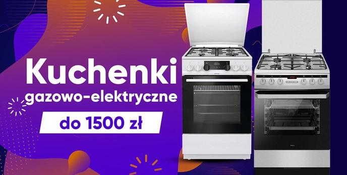 Jaka kuchenka gazowo-elektryczna do 1500 zł? |TOP 7|