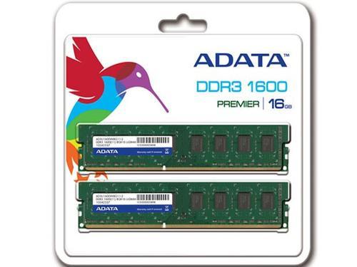 A-Data DDR3 Premier 16GB / 1600 (2*8GB) CL11 Blister