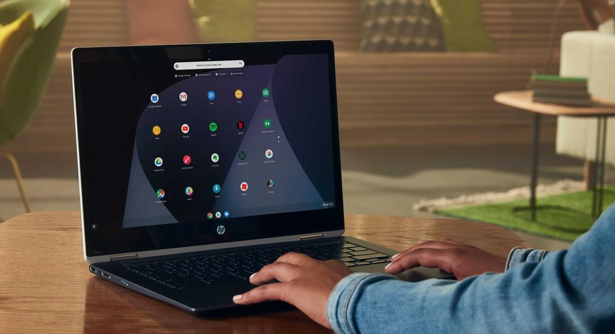 Chorme OS jest zaprojektowany z myślą o słabszych laptopach