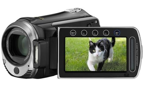 JVC GZ-HM550 - nowa kamera z linii Everio 2010