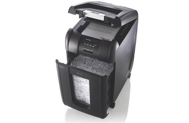 zaawansowana niszczarka Rexel Auto+ 300X Din4/40L 2103250EU