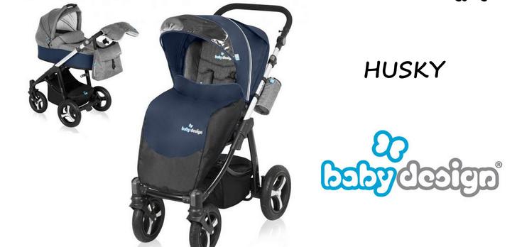 Baby Design Husky - Wózek Idealny Na Zimę