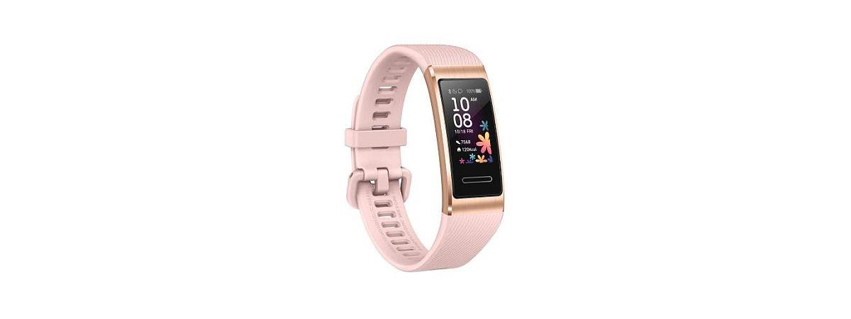 smartband HUAWEI w kolorze różowym