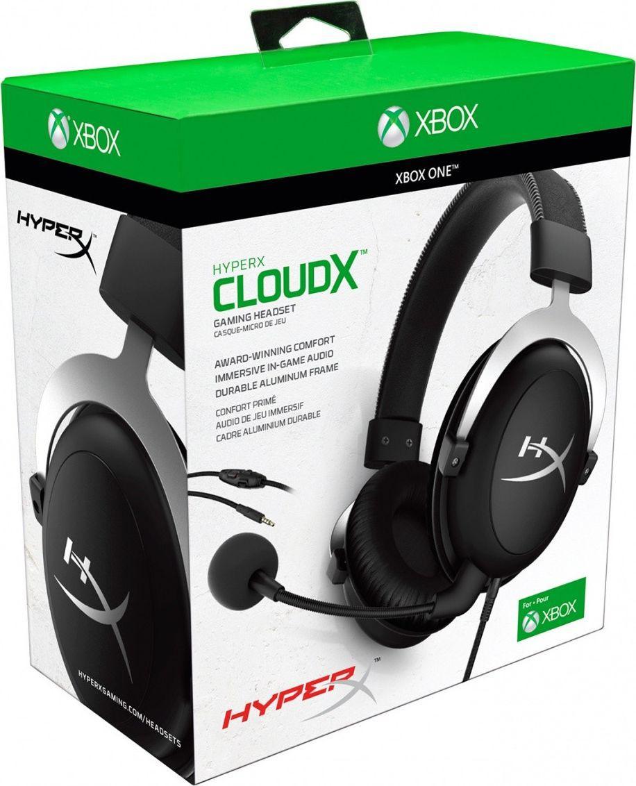 HyperX CloudX (Xbox Licensed)-HX-HS5CX-SR