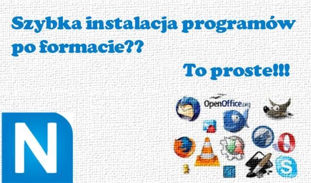 Szybka Instalacja Programów po Formacie Komputera