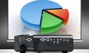 Dell Projektor 1610HD DLP WXGA/16:10/3500 ANSI/2100:1/HDMI/2YNBD