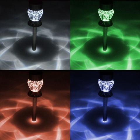 Polux Crystal 304803 zmienne kolory światła