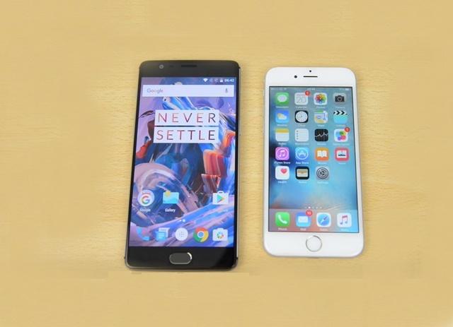 OnePlus 3 vs iPhone 7 porównanie