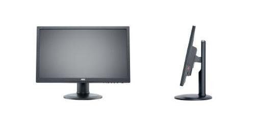 AOC 22'' e2260Phu LED DVI HDMI Pivot Czarny