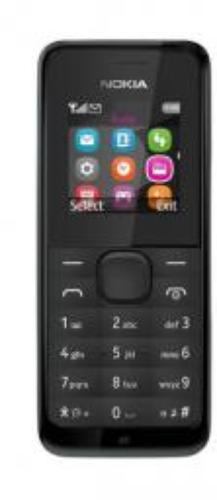 Nokia 105 Czarny Dual Sim (A00025632)