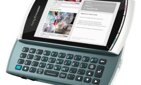 Sony Ericsson Vivaz pro - Symbian i klawiatura QWERTY