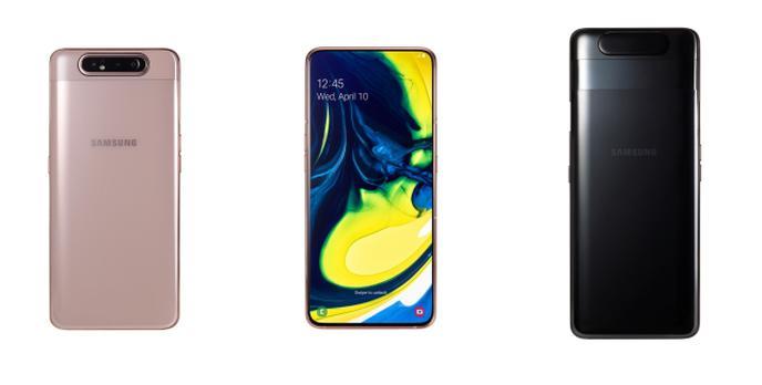 Oto Samsung z obracanym aparatem! Galaxy A20e, A40 i A80 wchodzą do Polski