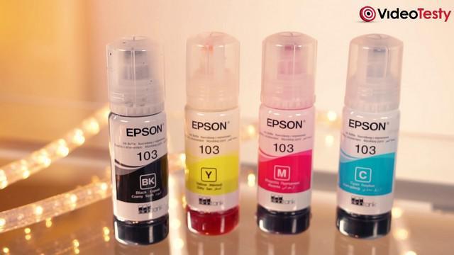 Epson L3110 i L4160 - zestaw startowy tuszy