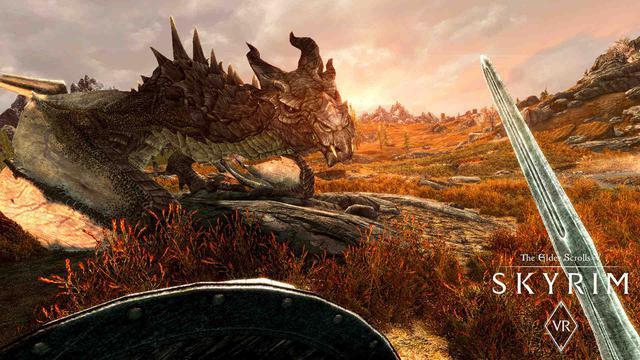 The Elder Scrolls V: Skyrim - O jaki ładny smoczek!