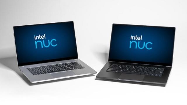 Laptopy od Intela wyglądają dość typowo