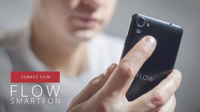 Kruger&Matz FLOW - Przystępny Cenowo Smartfon Dual Sim