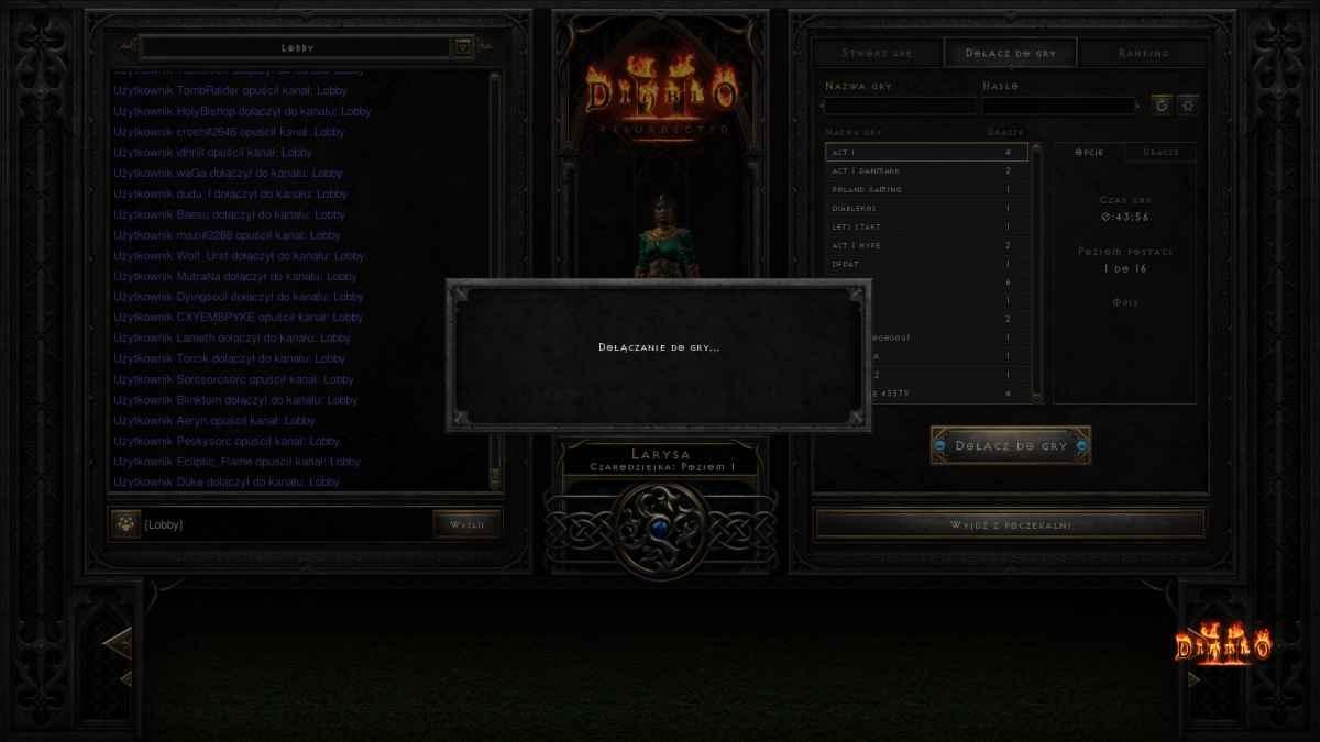 Diablo II: Resurrected - Zawiera sporo problemów technicznych