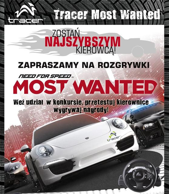 Tracer Most Wanted – zawody dla najszybszych kierowców