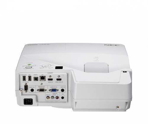 NEC LCD UM351Wi ultrshort WXGA 3500AL, Multitouch