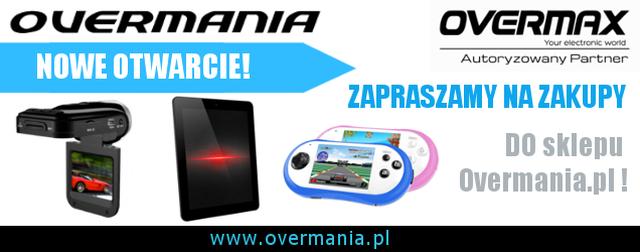 Poznaj nową Overmanię! Autoryzowanego Partnera marki Overmax!