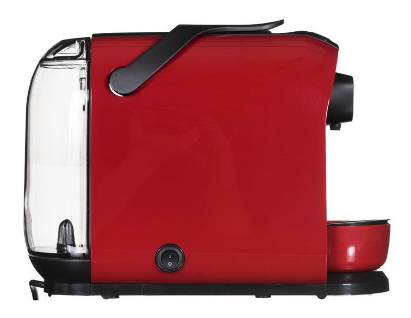 Ekspres kapsułkowy Tchibo Cafissimo Pure 326531 ( 1250W ; czerwony )