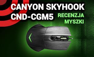Canyon Skyhook CND-CGM5 - Recenzja Myszki