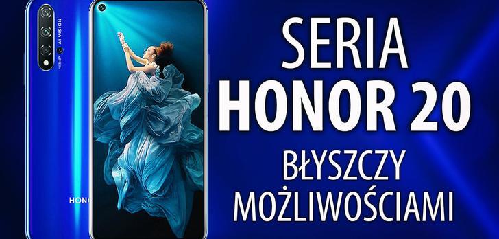 Premiera Honor 20 w Londynie - wielkie zmiany?