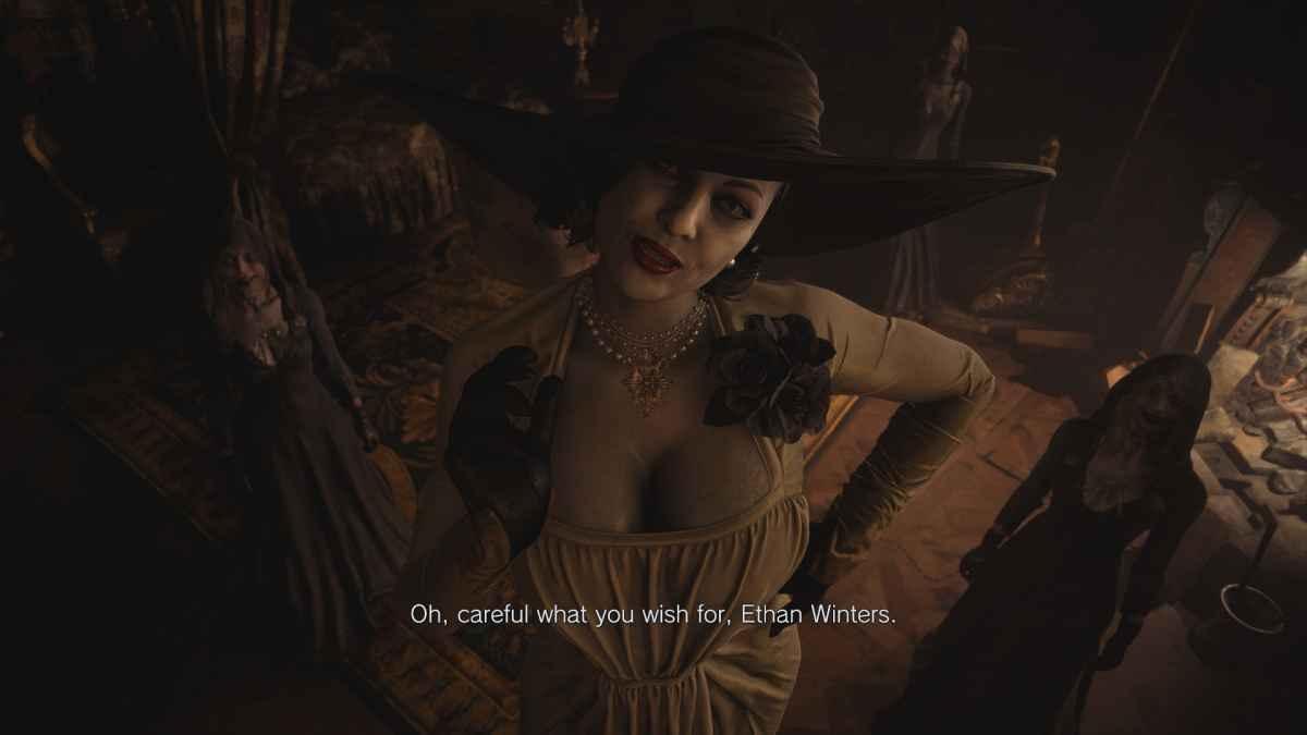 Resident Evil Village - Wysoka wampirzyca to ciekawa postać