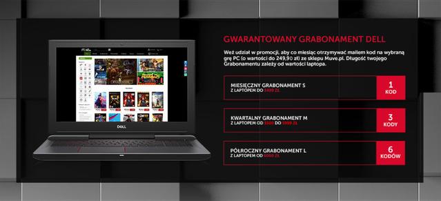 Dell Grabonament - gry na Muve.pl za 249,90 zł