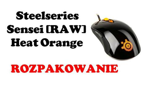 Steelseries Sensei [RAW] Heat Orange [ROZPAKOWANIE]