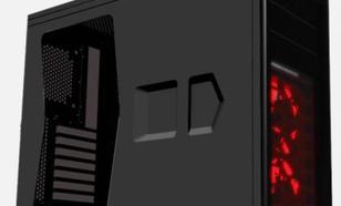 Corsair Graphite 230T Windowed BLACK/RED LED