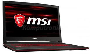 MSI GL73 8SD-233XPL - 240GB M.2 + 1TB HDD