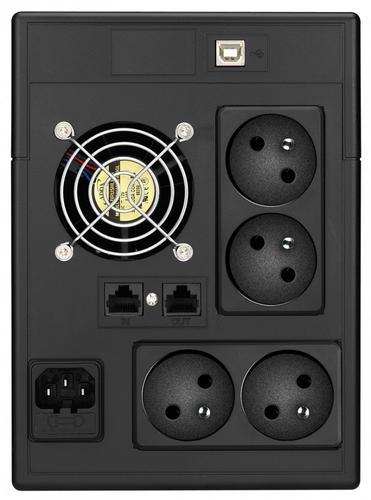 Lestar UPS V-1500FF AVR LCD 4xFR USB RJ 45