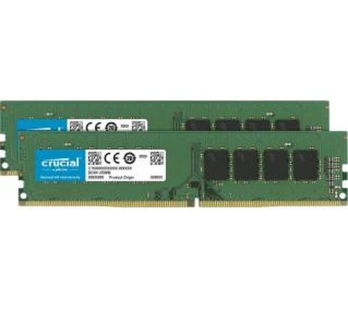 Crucial UDIMM DDR4 16GB (2 x 8GB) 2133 CL15