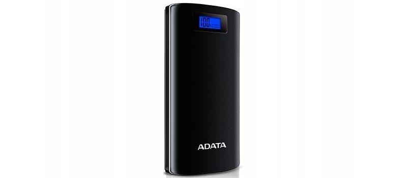 Adata P20000D 20000mAh (AZADAUAPAP200BK) w kolorze czarnym