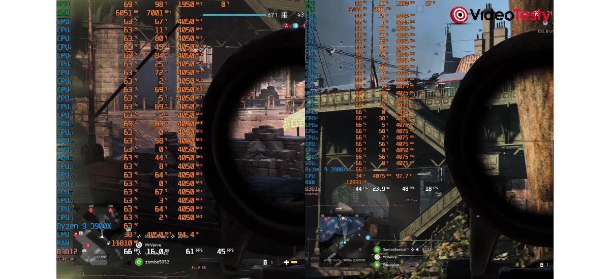 Ray Tracing w Battlefield V - 1080p vs 1440p