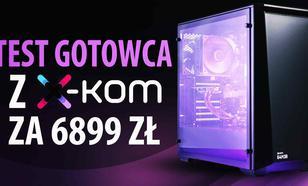 X-KOM G4M3R 500 - nie taki gotowiec straszny, jak go malują!