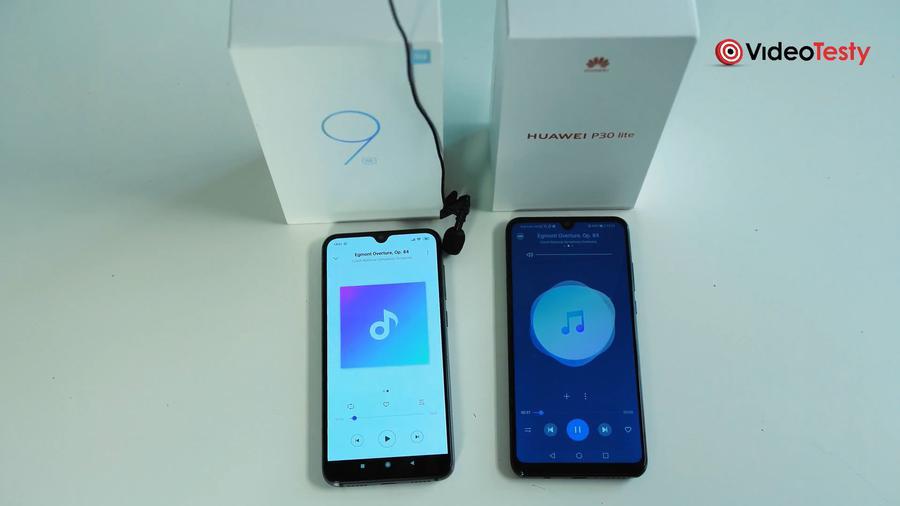 W porównaniu jakości odtwarzanego dźwięku zdecydowanie wygrywa Huawei