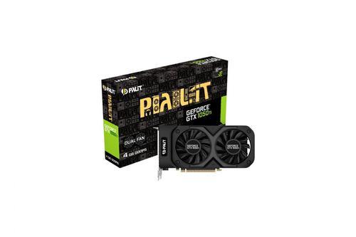 Palit GeForce GTX 1050 Ti Dual 4GB GDDR5 (128 Bit) DVI-D, HDMI, DP