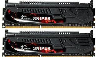 G.Skill DDR3 32GB (8GBx4) 1600MHz, CL9, Sniper Quad (F3-1600C9Q-32GSR)