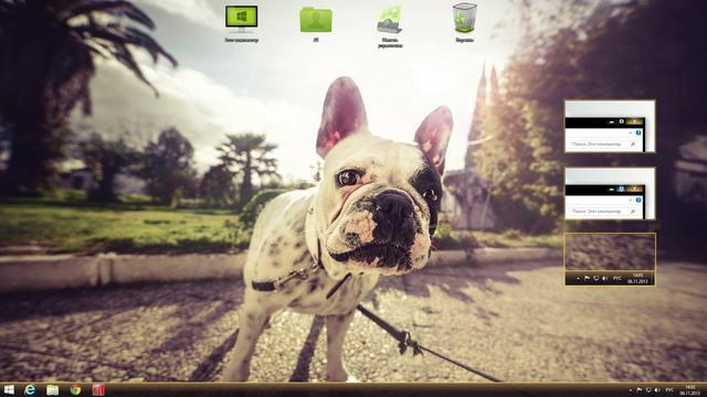 Xsun Theme for Win 8.1 - Termitboss