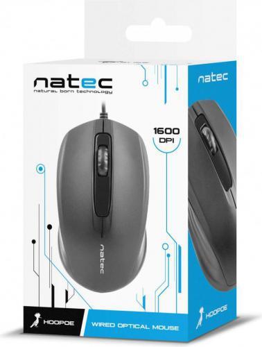 Natec Hoopoe Black (NMY-0878)