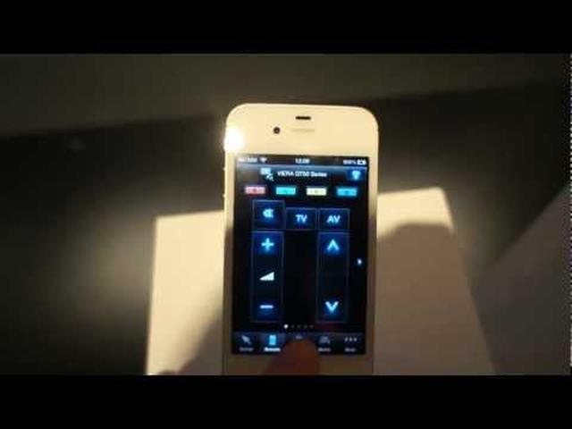 Panasonic Remote App -  zdalne sterowanie telewizorem na smartfonie